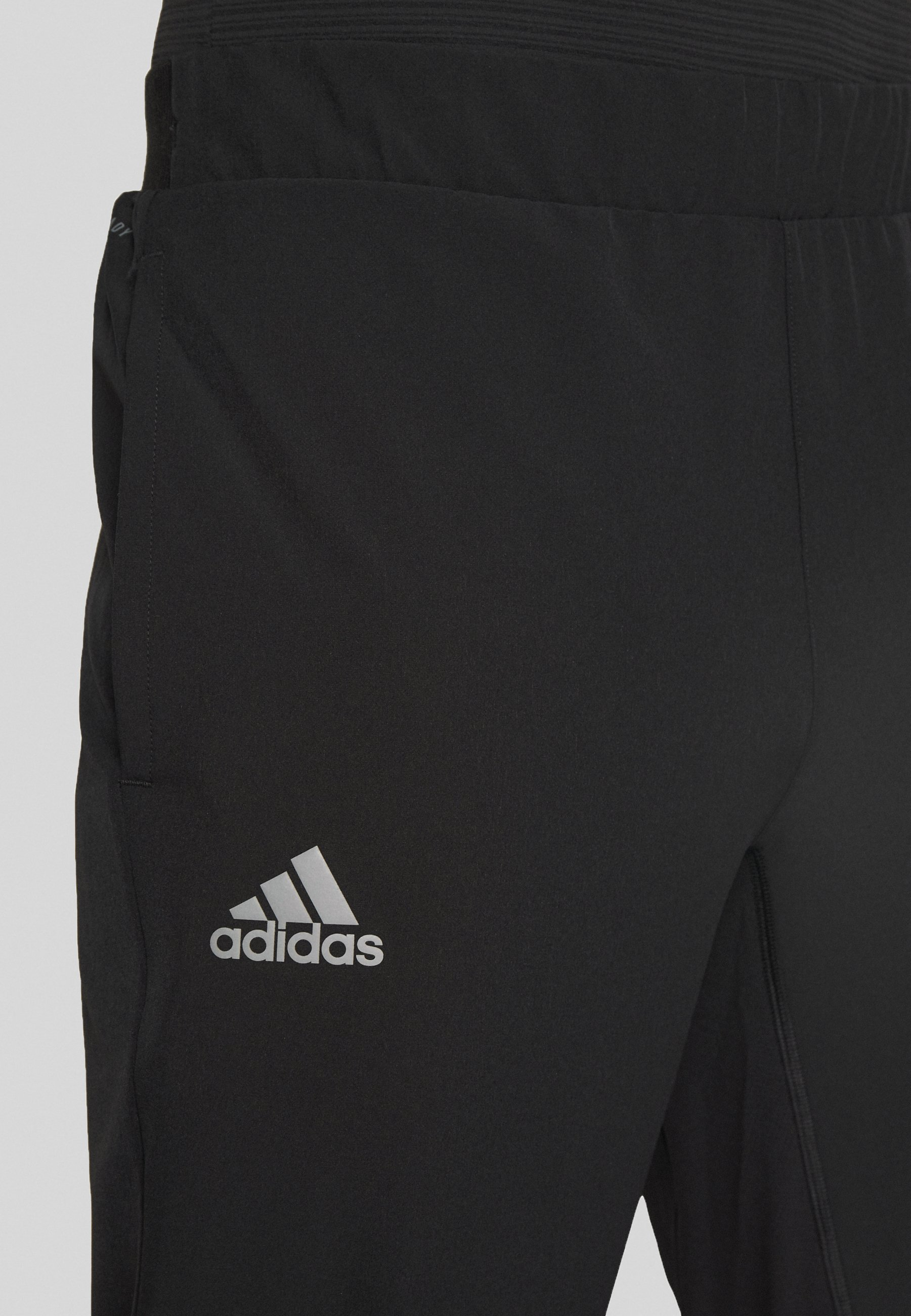 adidas Performance TENNIS PANT - Pantalon de survêtement - black/grey