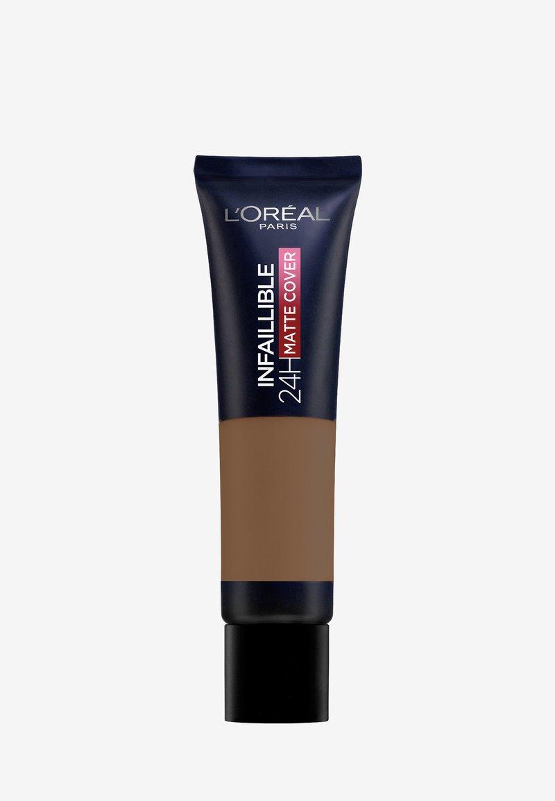 L'Oréal Paris - INFAILLIBLE 24H MATTE COVER - Foundation - 380 expresso/espresso