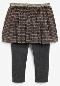 Next - A-line skirt - gold-coloured - 1