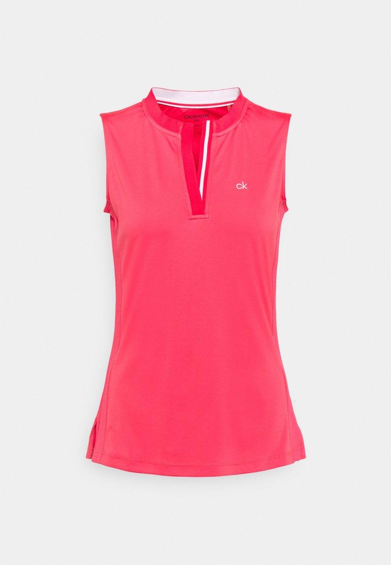 Calvin Klein Golf - VERDE SLEEVELESS - Print T-shirt - jete