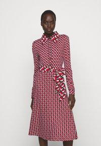 Diane von Furstenberg - MILLY DRESS - Paitamekko - red - 0