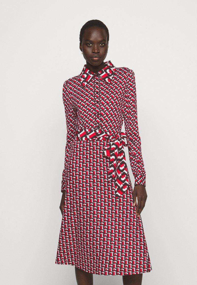 Diane von Furstenberg - MILLY DRESS - Paitamekko - red