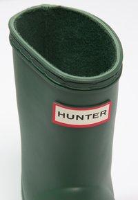 Hunter ORIGINAL - KIDS FIRST CLASSIC - Wellies - green - 5