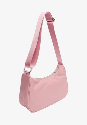 Across body bag - mottled pink