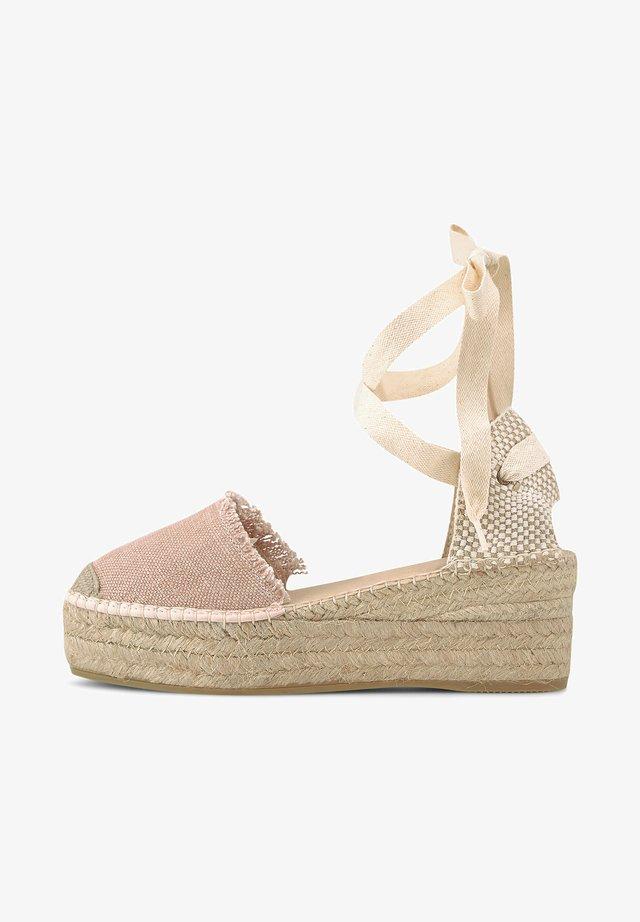 JAVA - Wedge sandals - nude