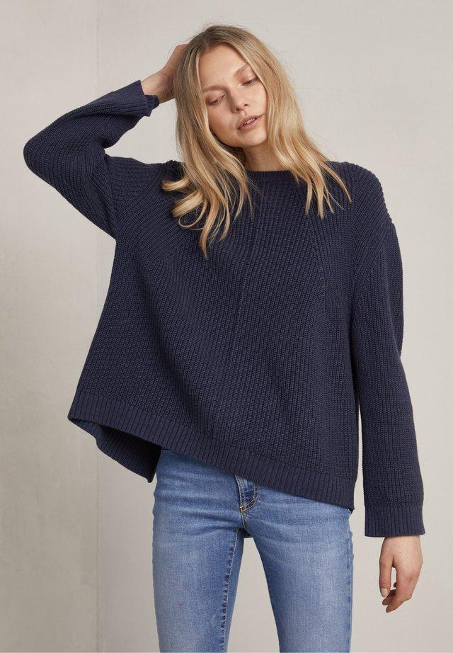 Pullover - true navy