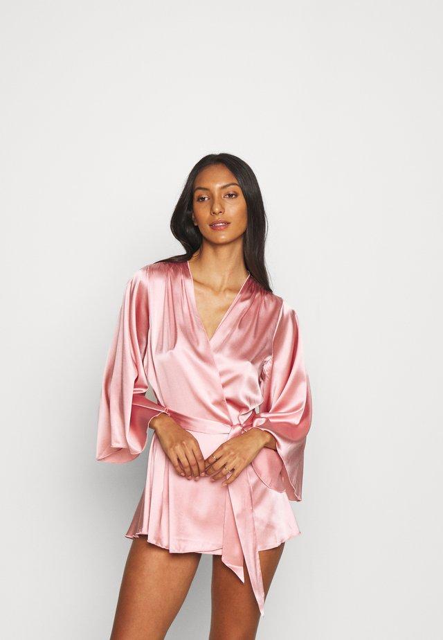 SLEEVE ROBE - Badjas - pink lady