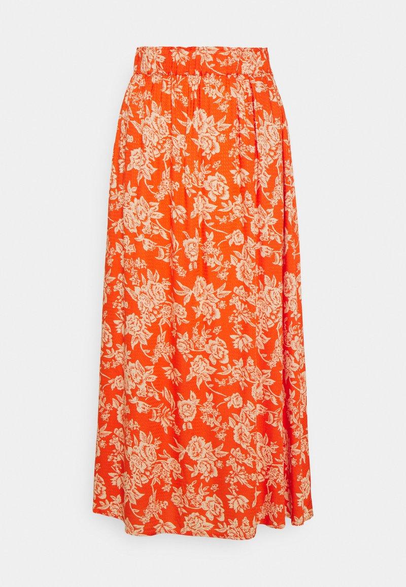 YAS - YASMANISH ANKLE SKIRT  - A-line skirt - tigerlily/manish