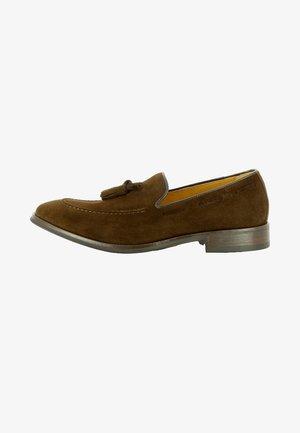 STEFANO - Scarpe senza lacci - dark brown
