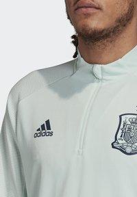 adidas Performance - SPAIN FEF TRAINING SHIRT - National team wear - dash green - 4