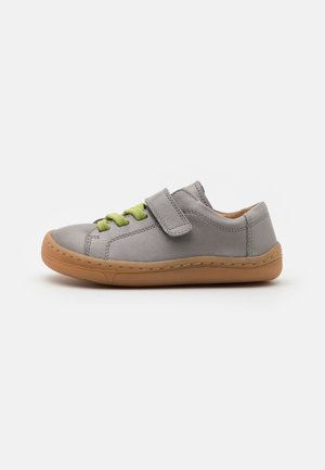 BAREFOOT UNISEX - Touch-strap shoes - light grey