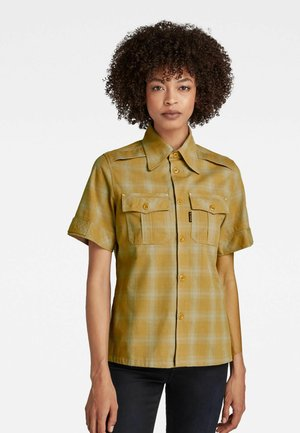 OFFICER - Overhemdblouse - toasted phill check