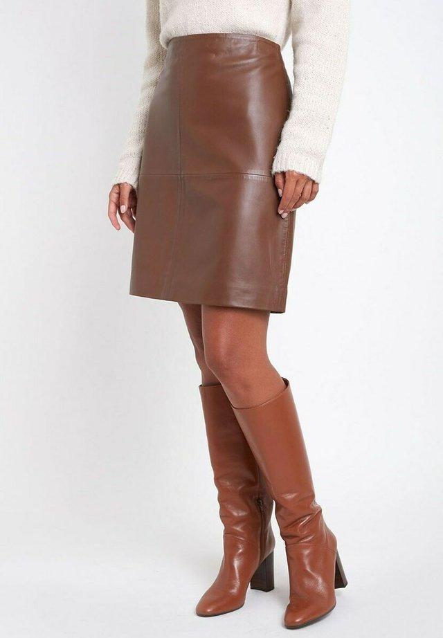 A-lijn rok - marron