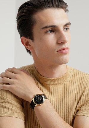 MENS TREND - Orologio - black/gold-coloured