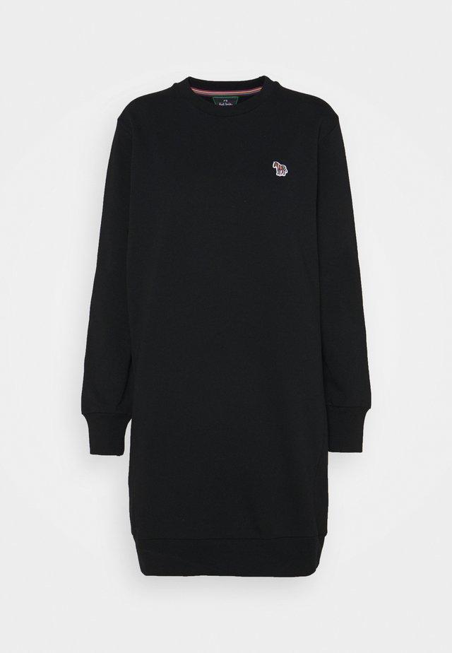 ZEBRA DRESS - Korte jurk - black