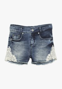 Blue Effect - GIRLS - Denim shorts - blue denim - 0