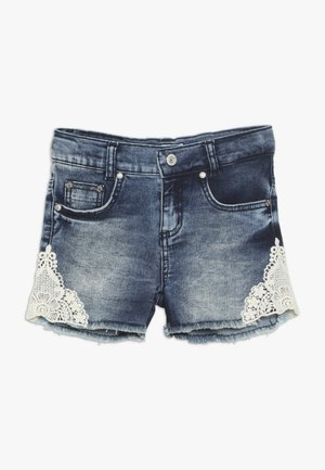 GIRLS - Denim shorts - blue denim