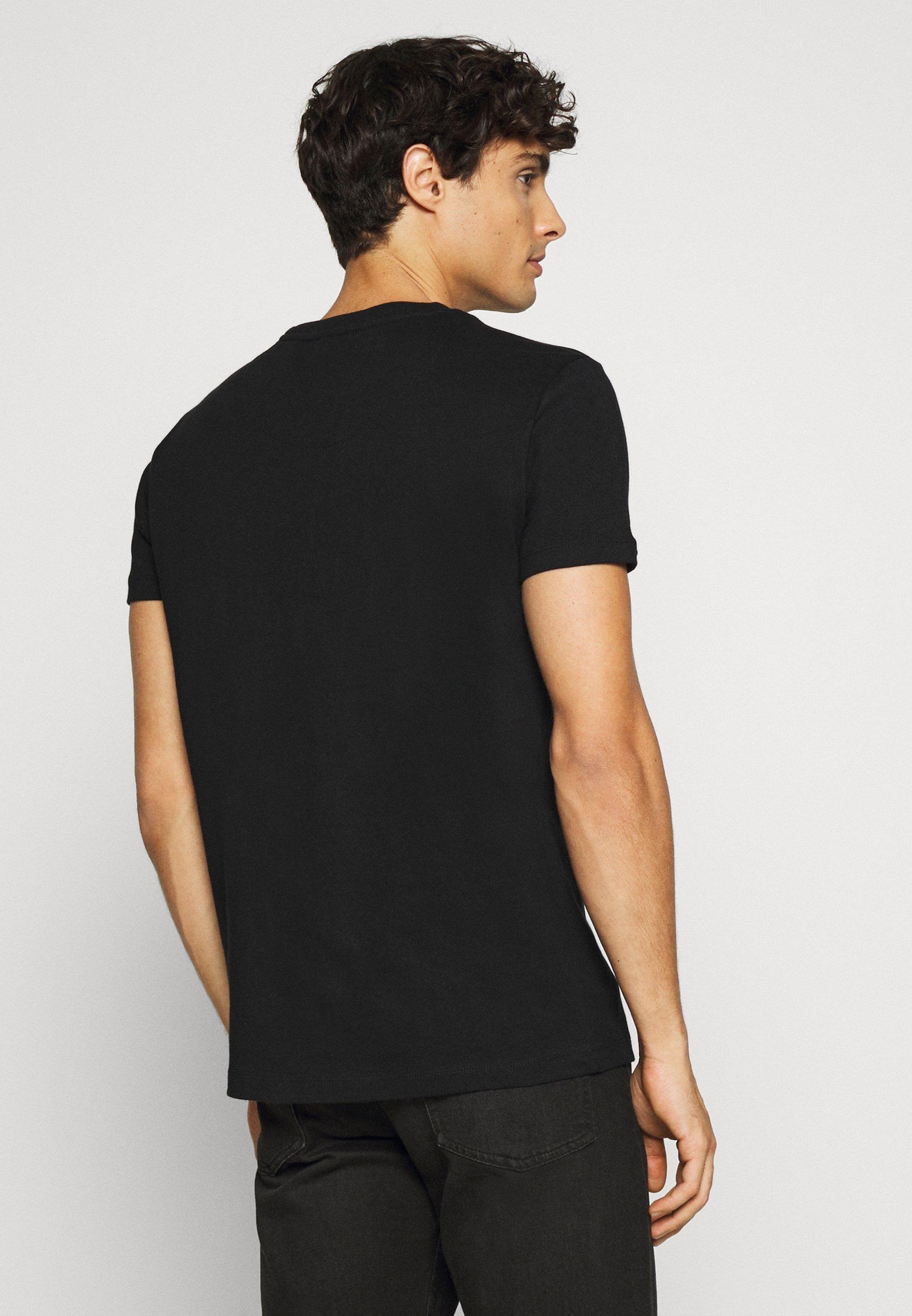 Petrol Industries Print T-shirt - black XsrSJ