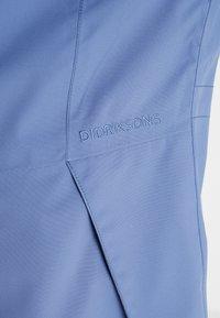Didriksons - FOLKA WOMEN'S - Waterproof jacket - fjord blue - 3