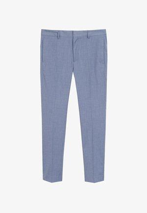 PAULO - Spodnie garniturowe - himmelblau