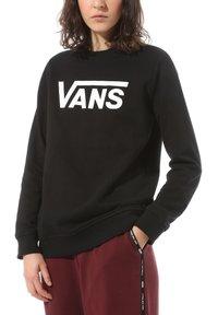 Vans - WM CLASSIC V CREW - Sweatshirt - black - 0