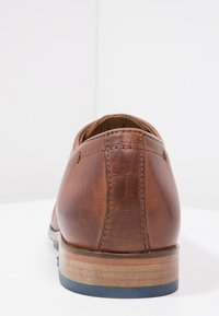 Salamander - STEEL - Smart lace-ups - cognac - 3