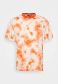 Kickers Classics - TWO TONE TEE - T-shirt z nadrukiem - orange - 4