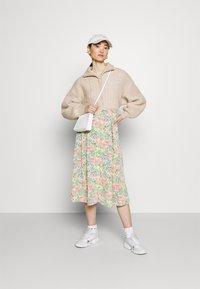 Monki - SIGRID BUTTON SKIRT - A-line skirt - multicolor - 1
