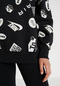 Nike Sportswear - CREW AIRMAX - Sweatshirt - black/white - 5