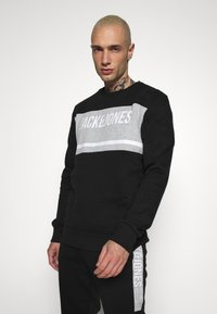 Jack & Jones - JCOBONDS TRACKSUIT SET - Sweatshirt - black - 2