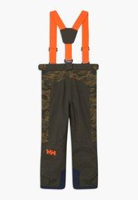 Helly Hansen - JR NO LIMITS 2.0 - Zimní kalhoty - olive - 1