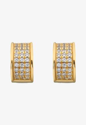 CREOLE - Earrings - gold-coloured