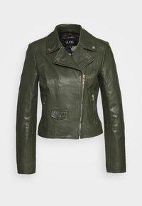 Ibana - FABIENNE - Leather jacket - green - 3