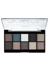 Nyx Professional Makeup - PERFECT FILTER SHADOW PALETTE - Paleta cieni - 4 gloomy days - 1