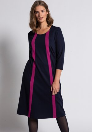 Jersey dress - mitternachtsblau