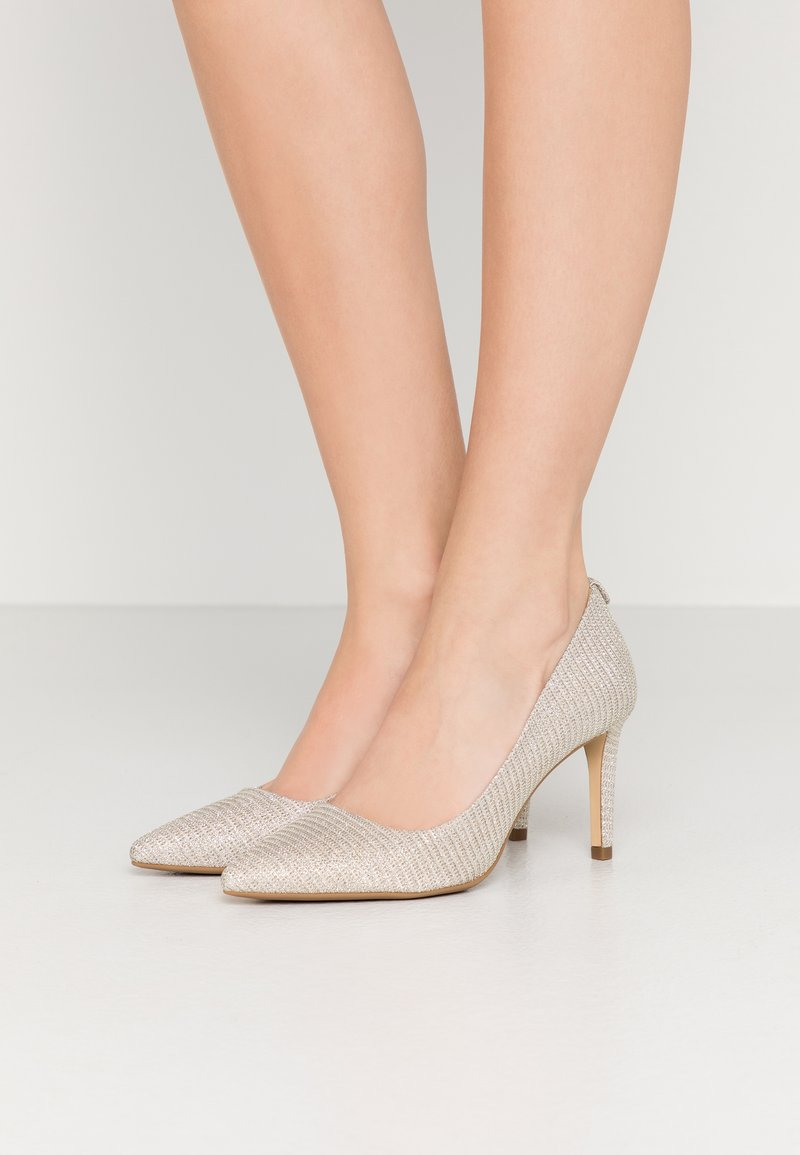 MICHAEL Michael Kors - DOROTHY FLEX  - High heels - silver/sand