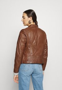 Gipsy - TALIDA - Leather jacket - cognac - 3