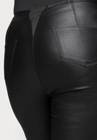 Simply Be - HIGH WAIST SHAPER - Slim fit jeans - black - 4