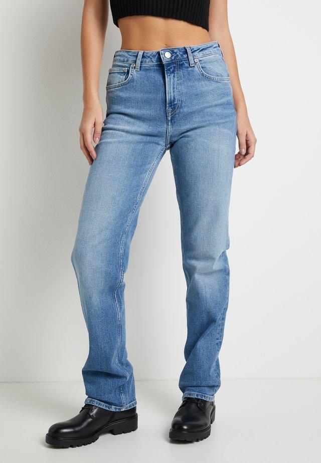 DUA LIPA X PEPE JEANS - Jeans straight leg - blue denim