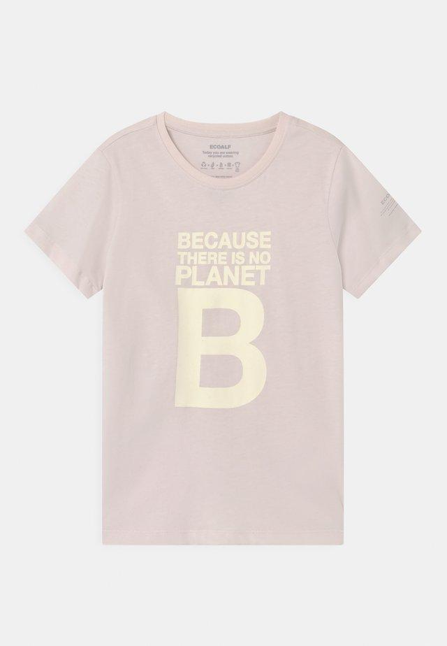 GREAT B - T-shirt print - lilac