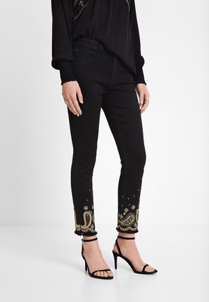 DENIM_VIOLETA - Jean slim - black
