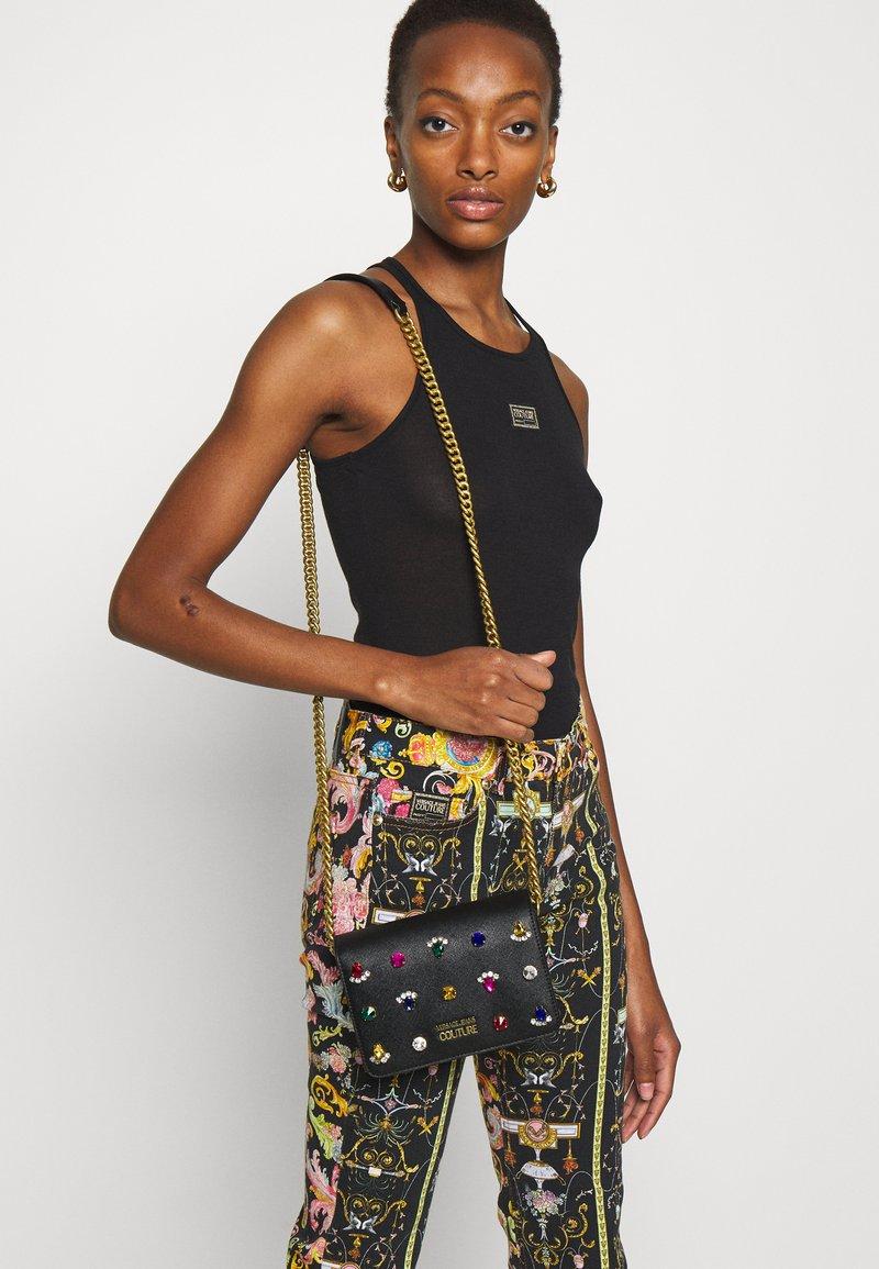 Versace Jeans Couture - JEWELS CROSSBODY - Across body bag - nero
