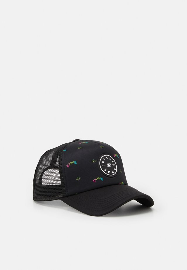 SCOPE TRUCKER UNISEX - Gorra - black