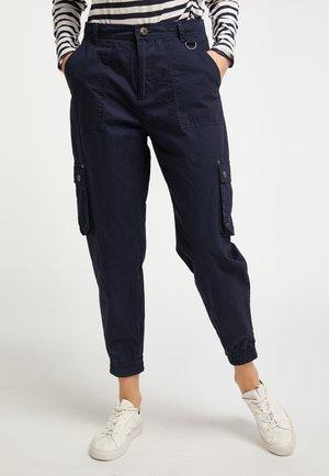 Cargo trousers - marine