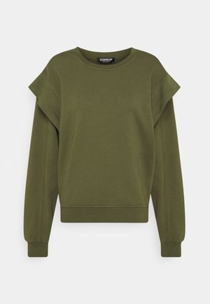 FELPA GIROCOLLO - Sweatshirt - thyme