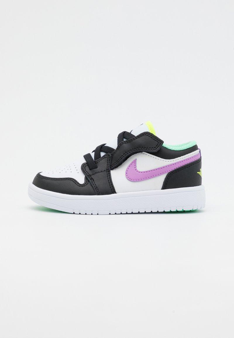 Jordan - LOW ALT UNISEX - Obuwie do koszykówki - white/violet shock/black/green glow/volt