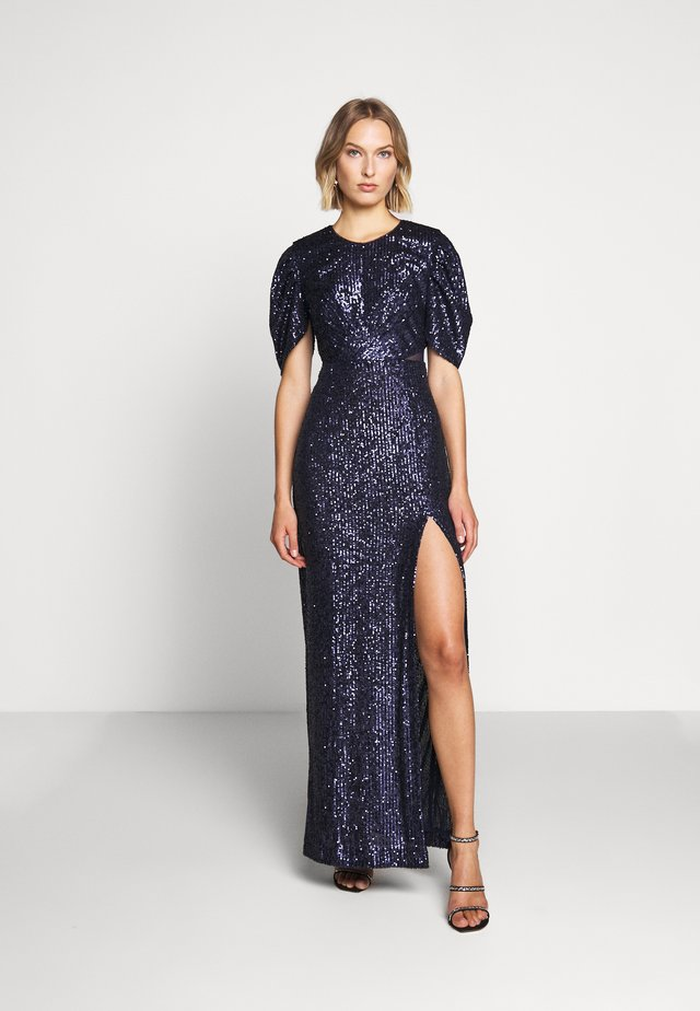 AMIRA DRESS LUX CAPSULE COLLECTION - Společenské šaty - space navy