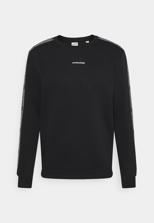 JCOZTAPING CREW NECK - Sweatshirt - black