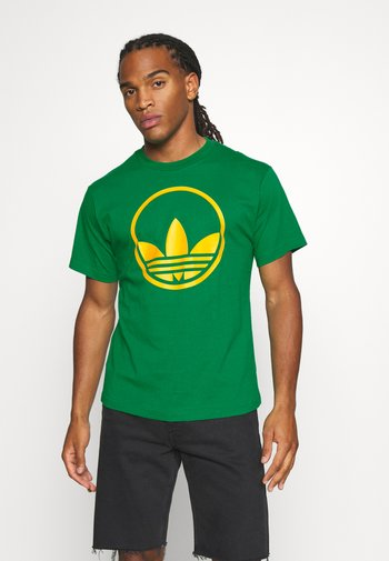 CIRCLE TREFOIL - T-shirt con stampa - green