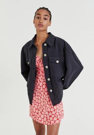 Summer jacket - mottled dark grey